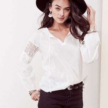 Elsa Embroidered Top