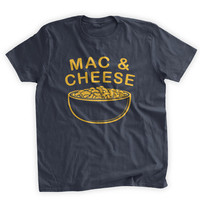 Bowl of Mac and Cheese T-shirt Funny Macaroni and Cheese Dinner Funny Kids Shirt Kids Clothing Family Mens Ladies Womens Youth Kids T-shirt