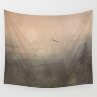 Does It ever  Wall Tapestry by Faded  Photos