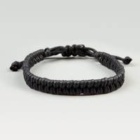 Blue Crown Friendship Cord Bracelet Black One Size For Men 17140310001
