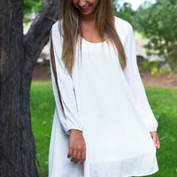 Grecian Princess Dress - Ivory