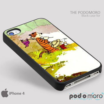 Calvin And Hobbes for iPhone 4/4S, iPhone 5/5S, iPhone 5c, iPhone 6, iPhone 6 Plus, iPod 4, iPod 5, Samsung Galaxy S3, Galaxy S4, Galaxy S5, Galaxy S6, Samsung Galaxy Note 3, Galaxy Note 4, Phone Case