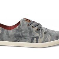 Camo Canvas Men's Paseos
