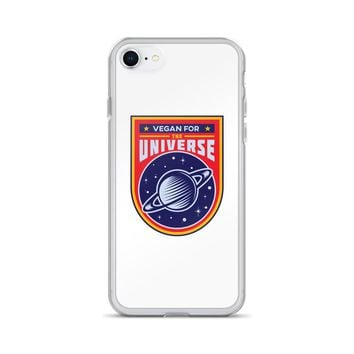 Vegan For The Universe iPhone Case