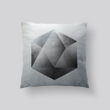 Throw Pillows for Couches / Sacred Geometry 2 by Richard Seyb
