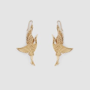 TRADEMARK / Crane Earrings