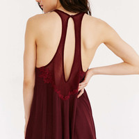 Out From Under Dolly Applique Romper - Urban Outfitters