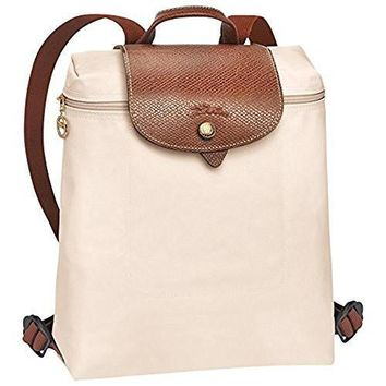 Longchamp Le Pliages Backpack Ivory | Best Deal Online