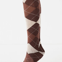 Argyle Sweater Knit Tight | Urban Outfitters