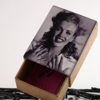 Marilyn Monroe Vintage Style Box of Bobby Pins 5 by InGripsWeTrust