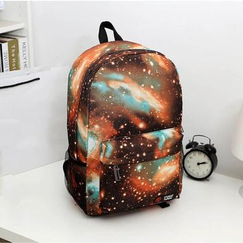 Galaxy Canvas Men's Backpack
