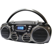 Sylvania Bluetooth Portable Cd Radio Boom Box With Am And Fm Radio