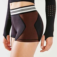 Olympia Activewear Taupe Xena Hot Short - Urban Outfitters