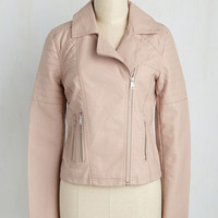 Full Chic Ahead Jacket in Mauve | Mod Retro Vintage Jackets | ModCloth.com