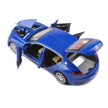 1:32 Scale Bugatti Veyron 16C Galibier Alloy Metal Car Toys For Boys Diecast Model light&sound Collection Kids Gift