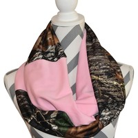 Pink Realtree Scarf