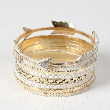 Arrow Bangle Set