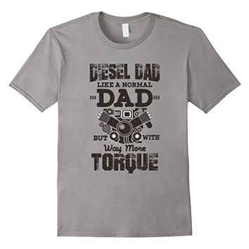 Mens Diesel Mechanic Dad T-shirt - Automobile Motors Shirt