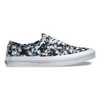 Reverse Floral Authentic Slim | Shop Womens Shoes at Vans