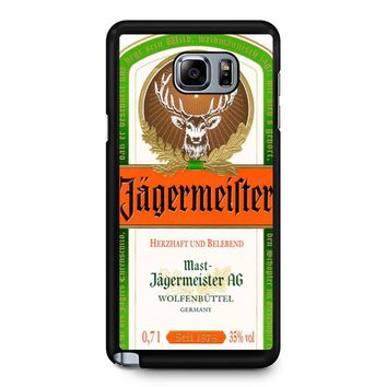 Jagermeister Samsung Galaxy Note 5 Case