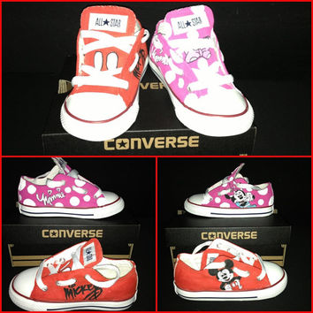 Custom Hand-Painted TODDLER (sz 2-10) Chucks/Converse *Choose YOUR favorite or create your own!