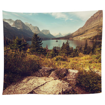 Scenic Glacier National Park Tapestry