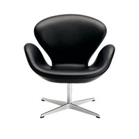 Swan Chair - Classic Leather - Design Within Reach