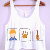 Ed Sheeran Crop-Top