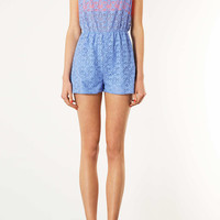 Bluebell Lace Pom Pom Playsuit - New In This Week - New In - Topshop USA