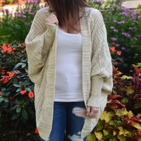 Stay Cozy Chunky Cardigan