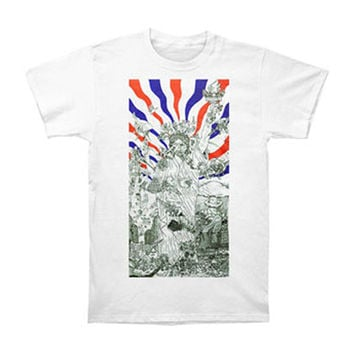 Dead Kennedys Men's  Bedtime For Democracy T-shirt White