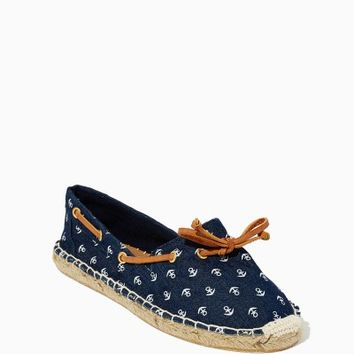 Noah Espadrille Anchor Flats | Shoes - Nautical Chic | charming charlie