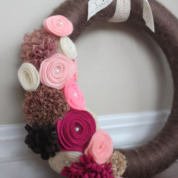 Wreath, Year Round Wreath, Everyday Wreath, Wedding decor, Wedding wreath, Home Decor, Perfect gift, hostess gift, host gift, teacher's gift