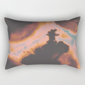 Burning Autumn Rectangular Pillow by duckyb