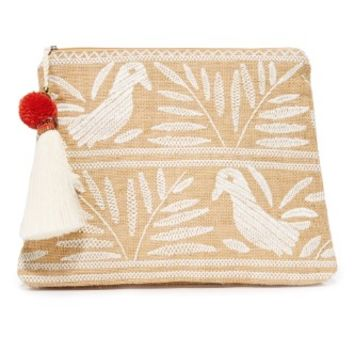 Isi Embroidered Purse