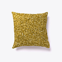Gold Glitter Abstract Texture Pattern