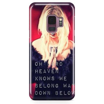 The Pretty Reckless Quotes Samsung Galaxy S9 Plus Case | Casefantasy