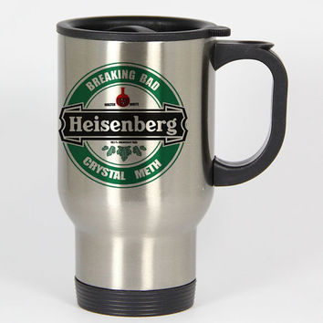Breaking Bad Heisenberg travel mugs,coffee mug,tea mug,14oz