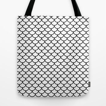 Simple Scales Tote Bag by RichCaspian | Society6