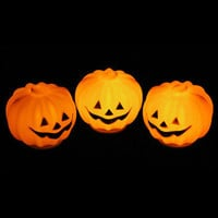 1 PC Halloween Pumpkin LED Lantern