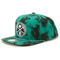 NBA Mitchell and Ness Nuggets Greenback Strapback Hat