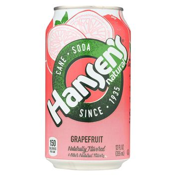 Hansen's Beverages Soda - Cane Sugar - Case Of 4 - 12 Fl Oz.