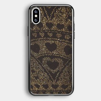 Asos Leggings In Glitter Heart iPhone XS Max Case | Casefruits