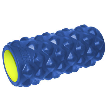 """GoFit Extreme Massage Roller 13"""" Blue/Green"""