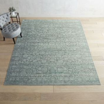 Pasha Heirloom Border Blue Rug