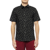 A.P.C. - Printed Short-Sleeved Cotton Shirt | MR PORTER
