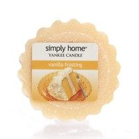 Yankee Candle simply home Vanilla Frosting Tart (White)