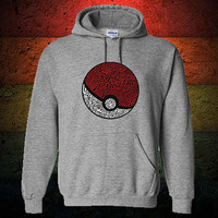 District Pokemon Hoodie Sweatshirt Sweater