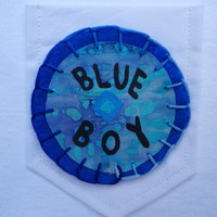 Mac Demarco Blue Boy Patch/Pocket Tee