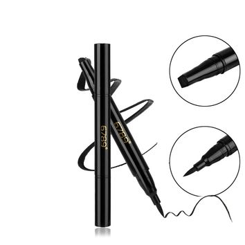 1PC Black Liquid Winged Eyeliner Seal Stamp 1 Second Cat Eye Wing Double Head Eyeliner Eye Liner Pencil Makeup Tools Full Size